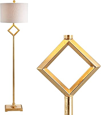 Amazon.com: JONATHAN Y JYL1016A - Lámpara de pie (cristal ...