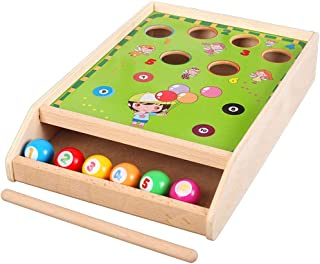 Billiards Children's Fun Toys Color Matching Parent-child Interaction 3 Years Old And Above Home Small Billiards Education...