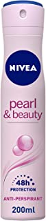 NIVEA, Deodorant Female, Pearl & Beauty, Spray, 200ml