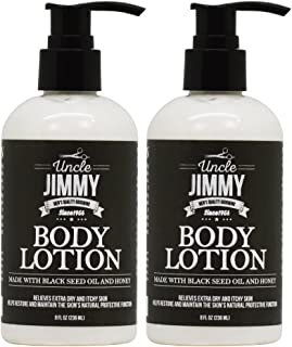 Uncle Jimmy Body Lotion 8oz