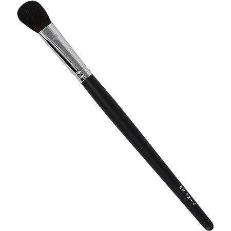 ARBS12-4 熊野筆 六角館さくら堂 アイシャドーブラシ 馬毛100% 黒軸 プロ仕様
