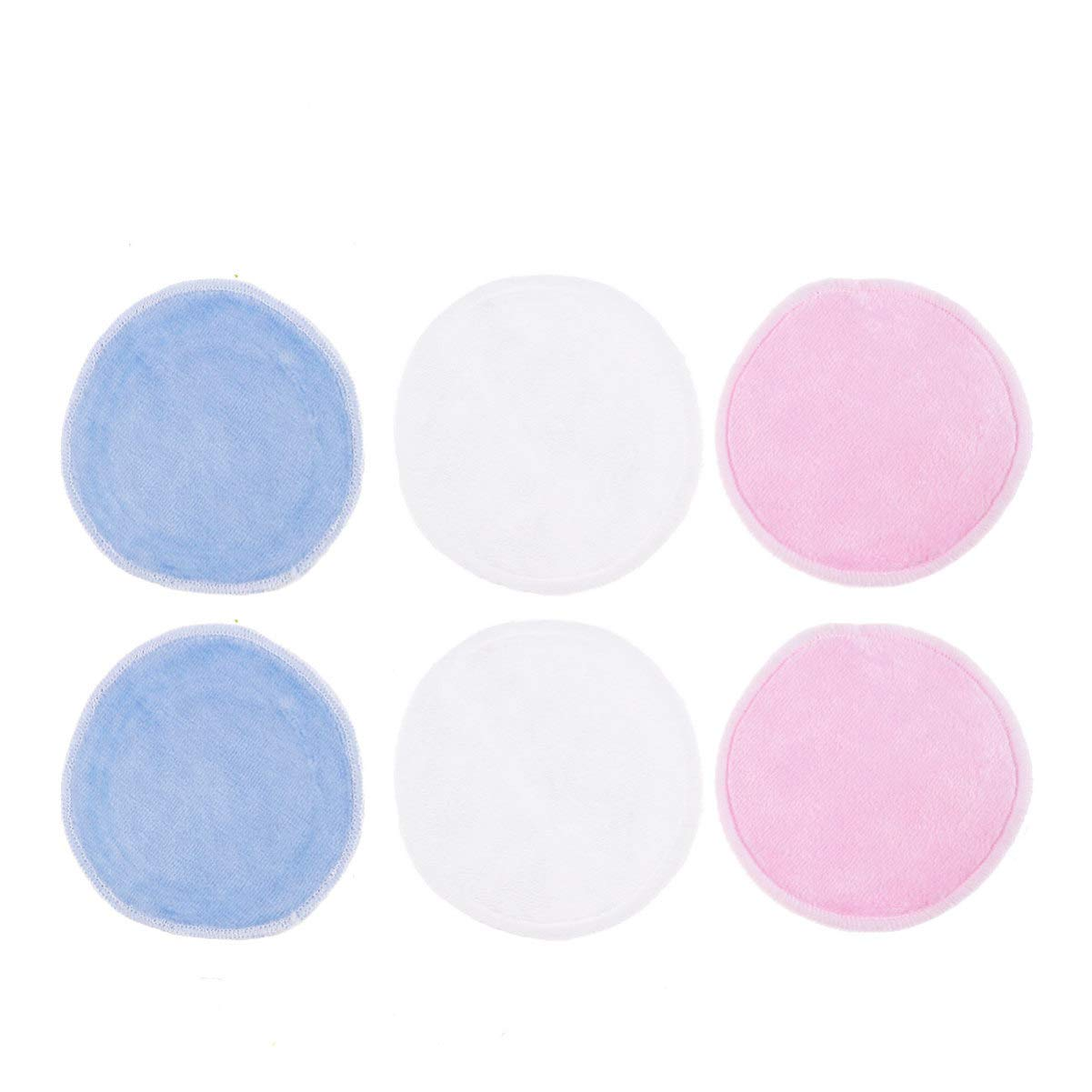 Beaupretty 17PCS Makeup Remover Complete Free Shipping Pads Cotton Cheap SALE Start Rounds with Bamb Bag