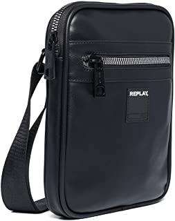 REPLAY ReplayFm3438.000.a0015HombreShoppers y bolsos de hombroNegro (Black) 3x25x21 centimeters (B x H x T)