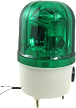 JunYe 12V Buzzer Alarme Lumi/ère Lampe Davertissement Signal Rotatif Strobe Flash Sir/ène durgence Son Illumination Hummer