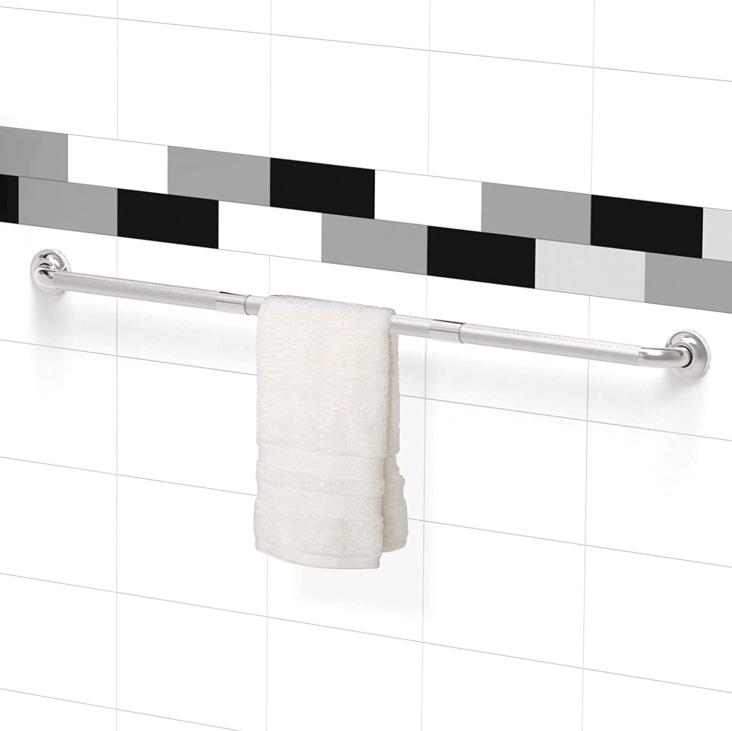 service AmeriLuck 48 Ranking integrated 1st place inch Safety Grab Bar Grip A with Knurled Anti-Slip