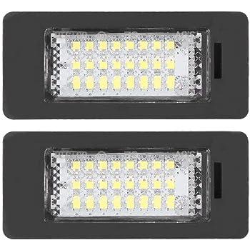 E86 6 Series E63 E63N E64 Z4 E64N 2Pcs LED Luci Targa per Auto Lampada Targa 24SMD LED Luce Lampada Posteriore con CanBus per 1 Series E81 E87 E87N E85 M6