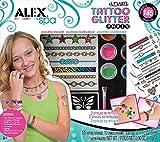 Alex Toys 799U Ultimate Glitter Tattoo Activity Party Kit, Multi Color