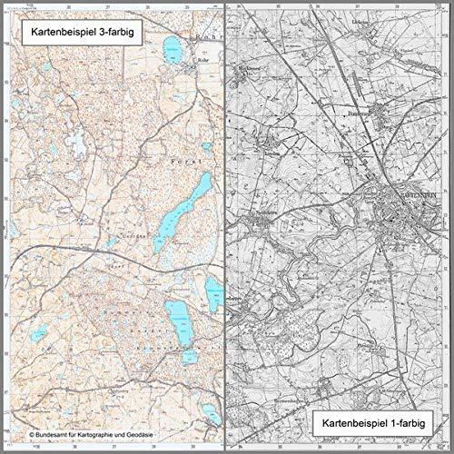 Cadinen: Topographische Karte 1:25.000 (Meßtischblatt) (Topographische Karte 1:25000 (TK 25) / Nachdruck aus Kartenbeständen des ehemaligen Reichsamtes für Landesaufnahme)