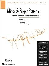 Faber Piano Adventures Achievement Skill Sheet No.2: Minor 5-Finger Patterns - Faber Piano