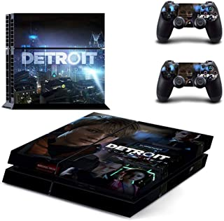 Become Human PS4 Console and DualShock 4 Controller Skin Set by DIANAVN - PlayStation 4 Vinyl