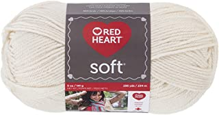 RED HEART Soft Yarn, Off-White