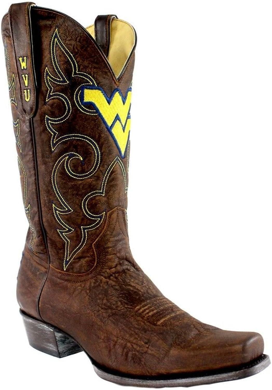 NCAA Mens Men's 13 Inch West Virginia University Gameday Boot