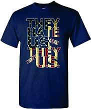 just hate us patriots shirt