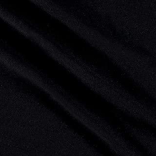 Robert Kaufman Kaufman Laguna Stretch Cotton Jersey Knit Onyx Fabric By The Yard
