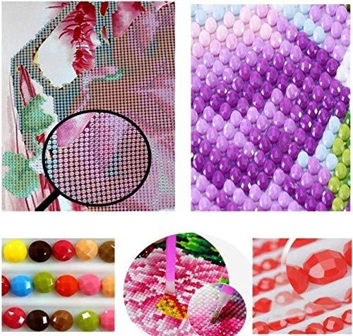 Taladro Redondo Completo 5D Diy Diamante Bordado Perro Lollipop Pintura De Diamante Punto De Cruz Mosaico De Diamantes De Imitación Decoración De Imagen 30X40Cm