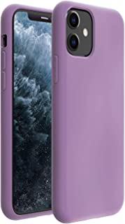 ZUSLAB Nano Silicone Case Compatible with Apple iPhone 11 Shockproof Gel Rubber Bumper Protective Cover - Purple