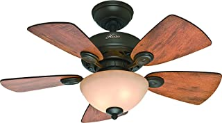 Hunter Fan Company Hunter 52090 Transitional 34``Ceiling Fan from Watson Collection Dark Finish, inch, New Bronze
