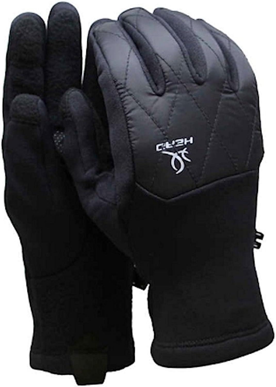 Head Womens Hybrid Glove (S, Black)