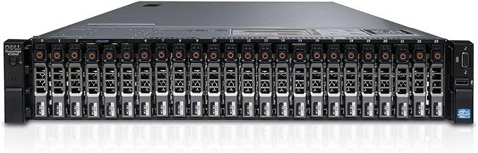 Dell PowerEdge R720xd Server | 2X-E5-2660v2 2.20GHz 10 cores | 96GB | H710 512mb | 4X 1TB SAS (Renewed)