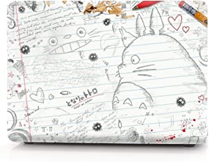 RQTX Matte Cartoon Totoro Laptop Hard Case Compatible with MacBook Pro 16 inch Case 2019 Release Model: A2141 Hard Laptop case – (HRH Totoro)