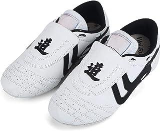 Keenso Taekwondo schoenen, ademende Pu&Rubber vechtsporten schoenen lichtgewicht voor Taekwondo, boksen, Kung Fu en TaiChi