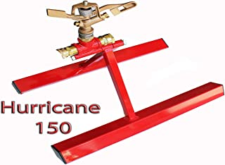 Hurricane 150 Rooftop Fire Sprinklers Wildfire 150 Foot Spray Home Pool Water Fire Pump Roof Sprinkler Cart Firefighting System USA Made By Code 3 Water