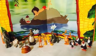 Disney The Jungle Book Cake/Cupcake Toppers Decorations Set of 12