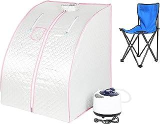 POPSPARK Sauna pliable cabine à chaleur Thérapeutique Spa 1000W Sauna à Vapeur,Sauna e portable,Personal Spa at home avec ...