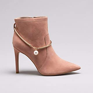 Ankle Boot Nobuck Nude