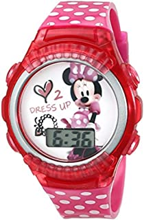 Minnie Mouse Boutique Love 2 Dress Up LED Digital Wrist Watch with Collectible Bowtique Tin