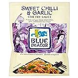 Blue Dragon Stir Fry Sauce - Sweet Chilli & Knoblauch (120 g) - Packung mit 6