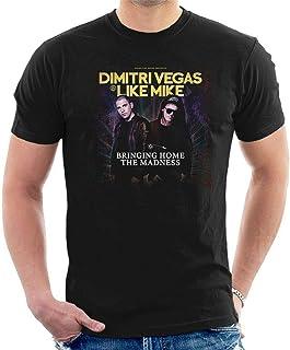Dimitri Vegas & Like Mike T-Shirt Bringing Home The Madness Electro House A82 Black