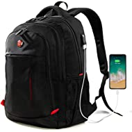Laptop Backpack, Travel Waterproof Computer Bag for Women Men, Anti-theft High School College...