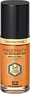 Max Factor Facefinity All Day Flawless, Liquid Foundation, 3 In 1, 089 Warm Praline 30 ml
