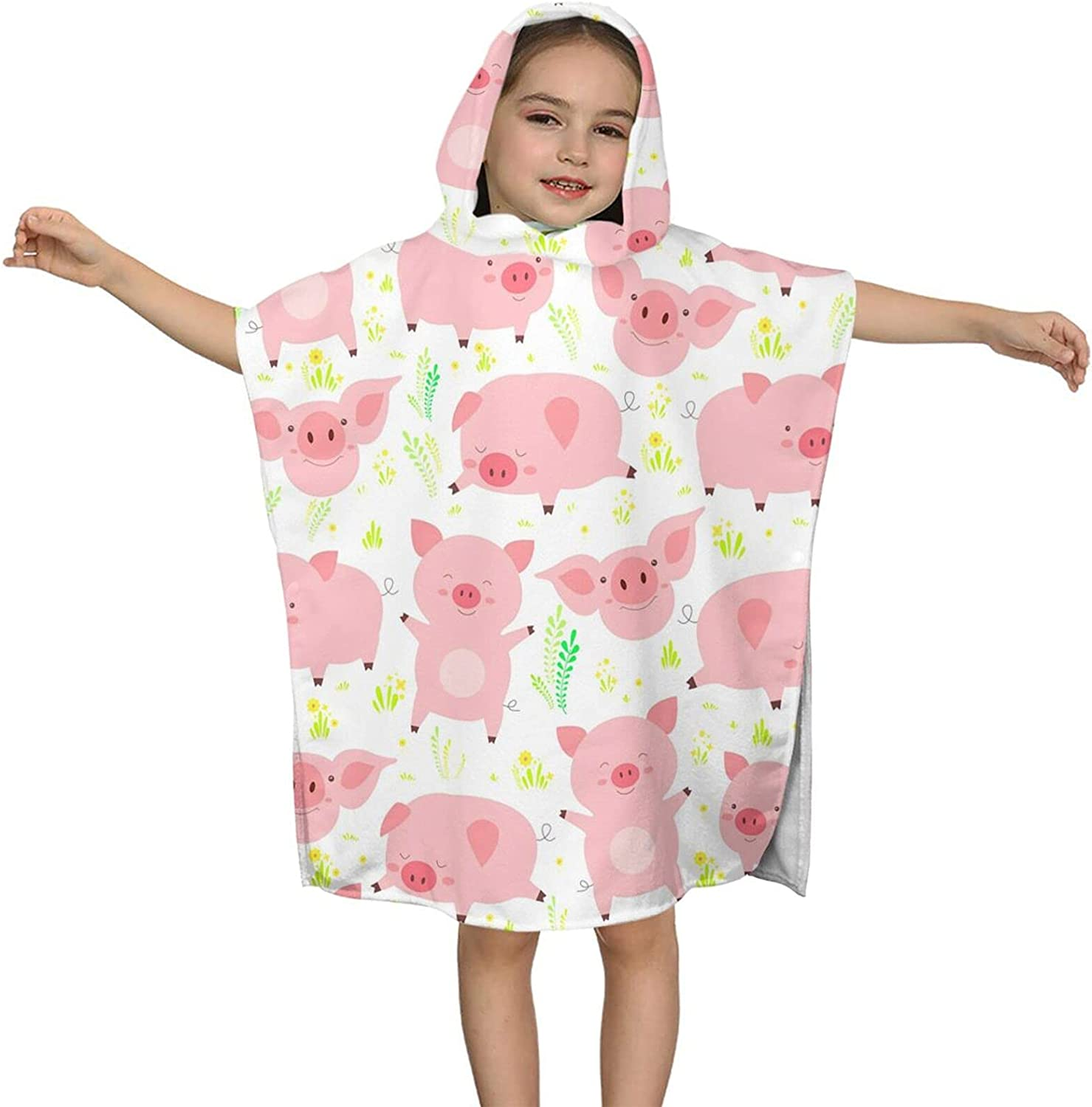 Hooded Beauty products Bath Towel Cute Pig Kids Soft Tow Beach Free shipping anywhere in the nation Wrap