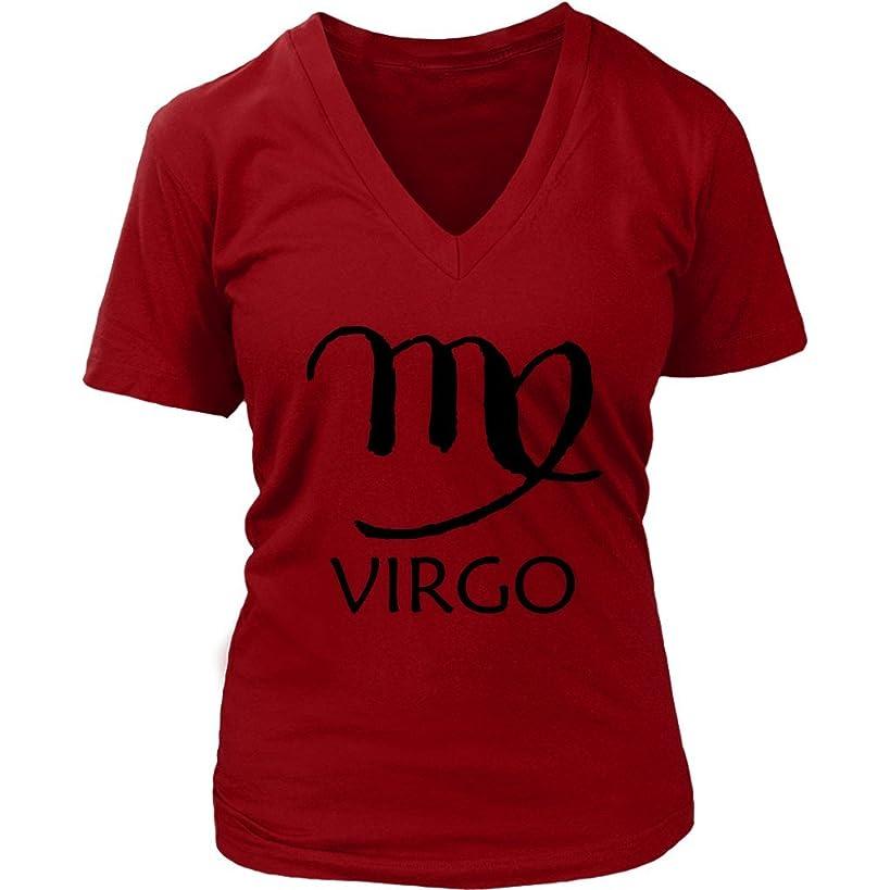 Virgo T-Shirt - Virgin Symbol Tshirt - Horoscope Tee - Womens Plus Size Up to 4X