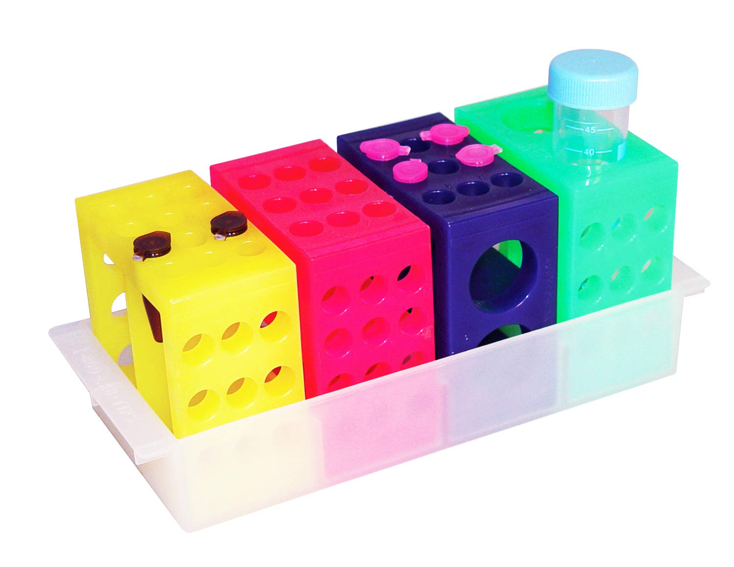 Tube Cube Test depot Support System Colors Fluorescent trend rank