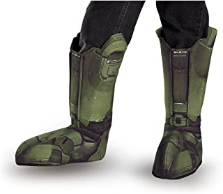 Disguise Master Chief Child Boot Covers