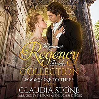 Reluctant Regency Brides Collection Books 1-3 cover art