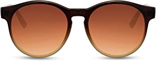 Cheapass - Gafas de Sol Retro Vintage Redondas Inspiración UV400 protegidas Hombres Mujeres