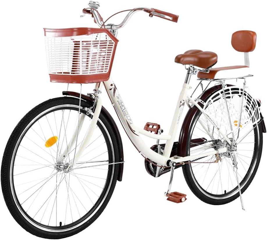 baodanla 26 Inch Womens Beach Classic Bike Bicyc 2021 model Ranking TOP16 Cruiser Unisex