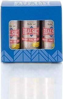 Redmond Real Sea Salt - Natural Unrefined Organic Gluten Free Fine, 0.21 Ounce Pocket Shaker (6 Pack)