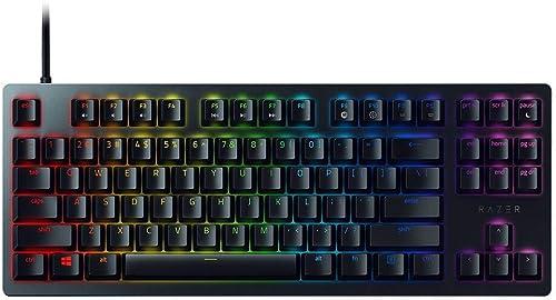 Razer Huntsman Tournament Edition TKL Tenkeyless Gaming Keyboard: Fastest Keyboard Switches Ever - Linear Optical Swi...