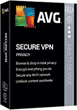 $59 » AVG Technologies AVG Secure VPN 2020, 5 Devices 2 Year 2020