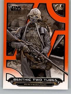 2018 Topps Star Wars Galactic Files Orange #RO-18 Benthic Two Tubes