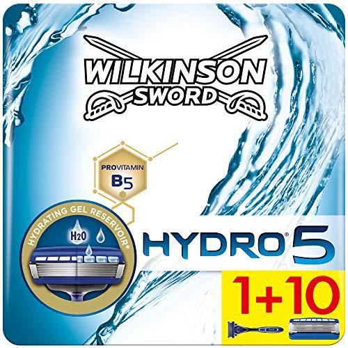 Wilkinson Sword Hydro 5 Herren Rasierer Starterset mit 10 Rasierklingen (briefkastenfähig)