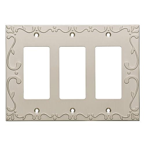 Decorative Triple Rocker Switch Plate Covers Amazoncom