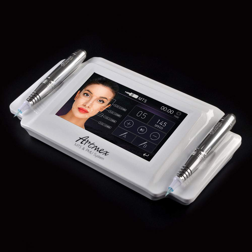 Outlet ☆ Free Shipping 2021 new QiQiBaby Digital Artmex V8 Rotary Pen Brow Eyeline Perm Lips Eye