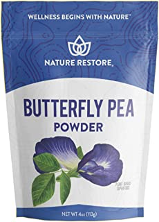 Blue Butterfly Pea Powder, 4 Ounces, High in Antioxidants, Natural Food Coloring