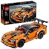 LEGO Technic Chevrolet Corvette ZR1, Collezione Auto da Corsa, Replica di Macchina Hot Rod 2 in 1, 42093